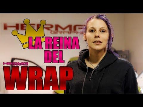 LA REINA DEL WRAP | NIVEL SEMA SHOW | HERMA GRAPHIX