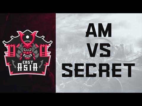 ECL East Asia 2v2 - AM vs Secret