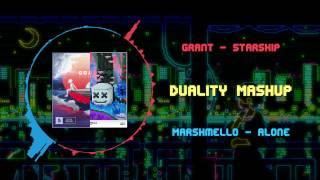 Скачать Grant Starship VS Marshmello Alone Duality Mashup