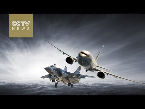 US jets face off with Russia