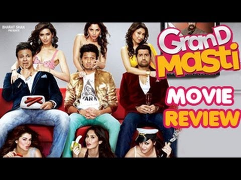 Grand Masti Movie Review - Obnoxious Comedy Travel Video