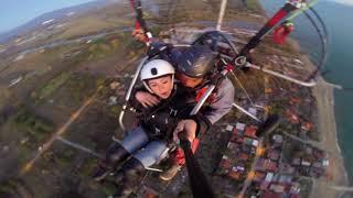 [HD] ParaMotor Trike 2 Seater - GoPro and Mavic Pro Footage