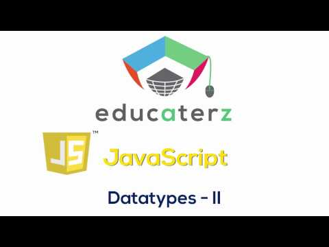 JavaScript Tutorial for Beginners - 7 JavaScript Datatypes Part 2 (String, Undefined, Null, Object)