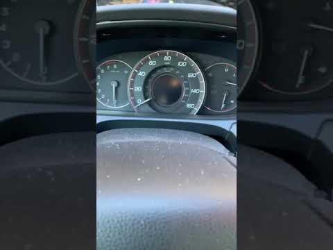 2013 Honda Accord Reset maintenance required light