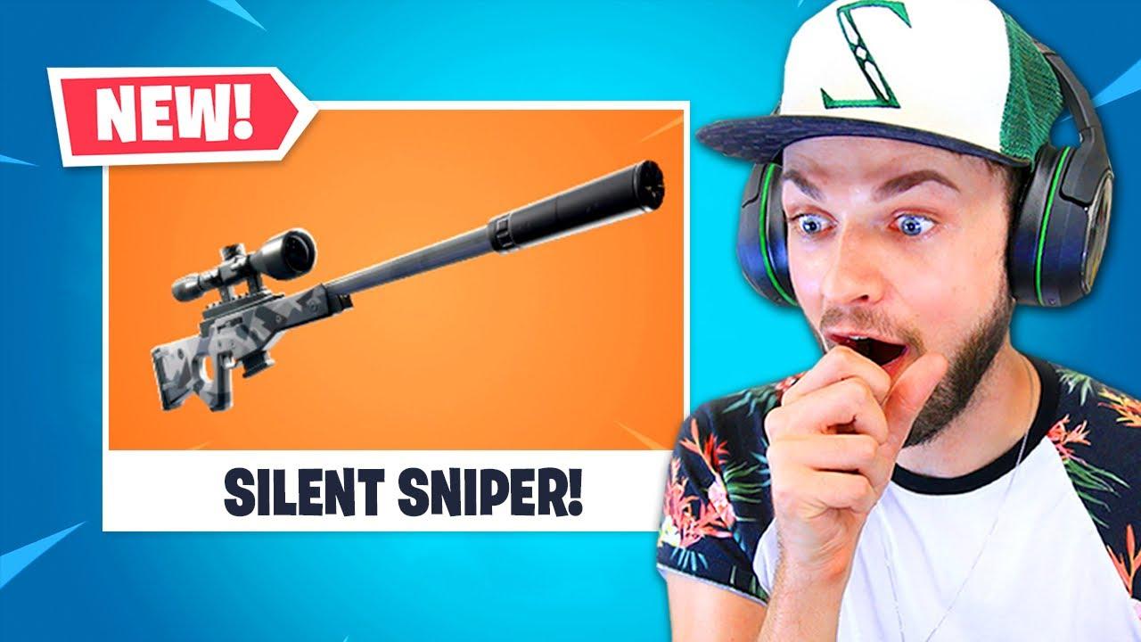 *NEW* Fortnite SILENT SNIPER!