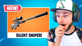 *NEW* Fortnite SILENT SNIPER!