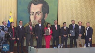 Venezuelan government and opposition create national dialogue table