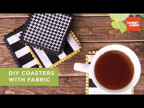 DIY Coasters with Fabric | Hobby Lobby®