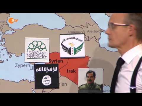 US-General Wesley Clark, Syrien, Libyen & der Regime change im Nahen Osten - Die Anstalt 20.10.2015