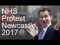 NHS Protests Newcastle 2017