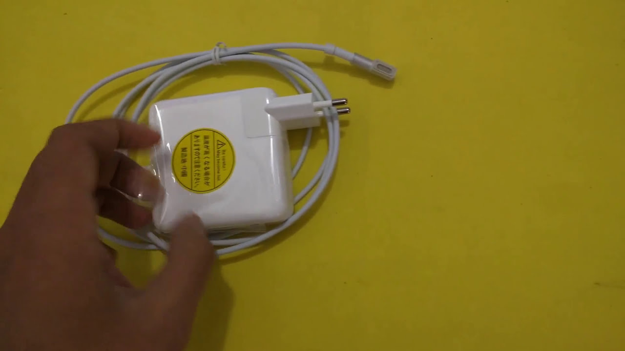 Magsafe 60w Power Adapter For Macbook Pro Detail Look Youtube Adaptor Charger Apple 13 A1181 A1184 A1278 A1330 A1344