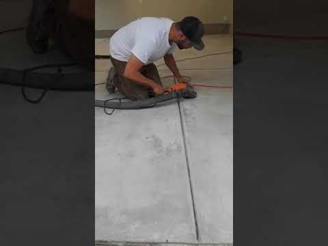 Epoxy/Metallic concrete floor prep
