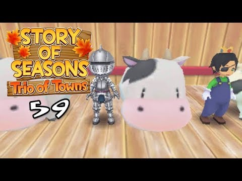 Let's Play Story of Seasons: Trio of Towns 59: Return of Mr. D.