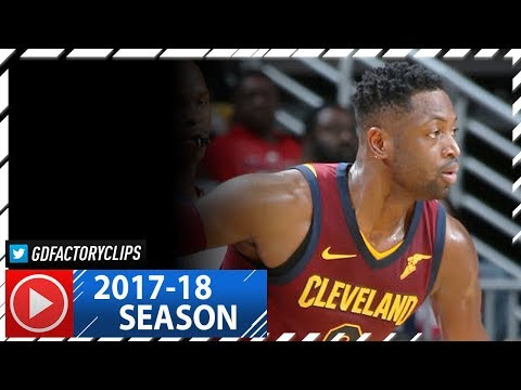 Dwyane Wade Full Highlights vs Pelicans (2017.10.28) - 15 Pts off the Bench!