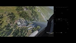 DCS / F-16 / CBU bombing trial