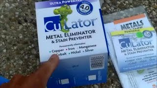CuLator Metal Eliminator & Stain Preventer