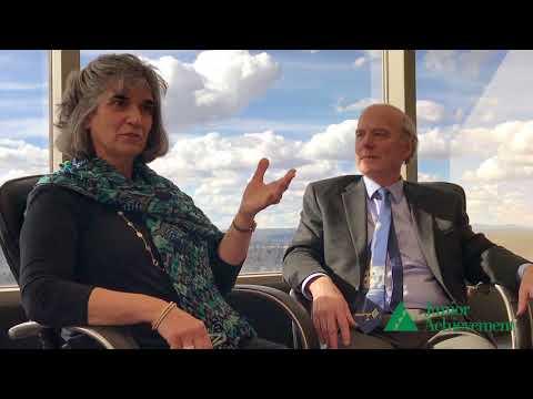 JA Business Hall of Fame 2018 Laureates Penn Fix and Debra Schultz