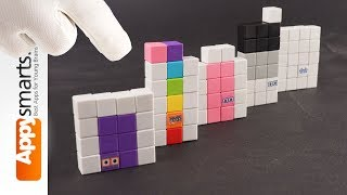 Numberblocks Numbers 16, 17, 18, 19 and 20 (imagined) - DIY crafts for kids