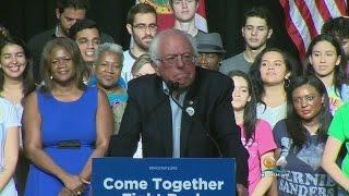 Former Presidential Candidate Bernie Sanders Makes Stop In Florida