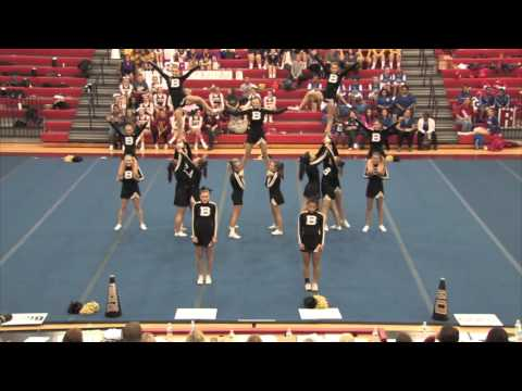 Boyle County High School - 2015 KHSAA 12th Region Cheer Tournament