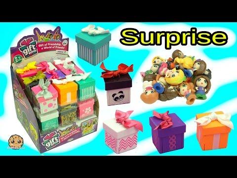 Full Box Gift Ems Mini Dolls Present Surprise Blind Bags Visit My Little Pony Apple Jack