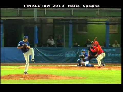 Italian Baseball Week 2010, Finale, Italia-Spagna