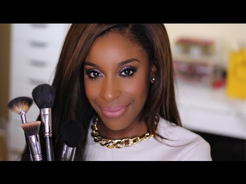 My Holy Grail Makeup Brushes!!! | Jackie Aina