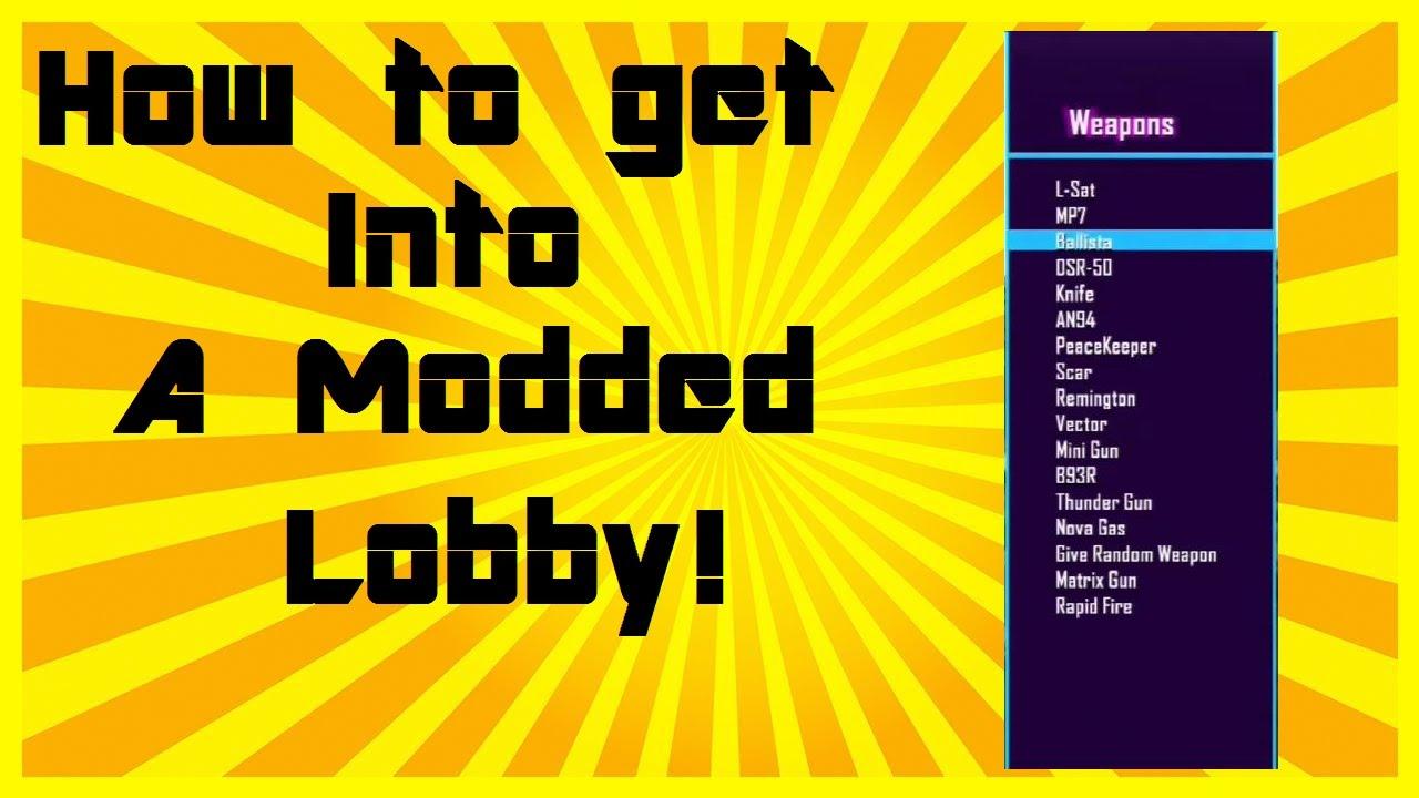 black ops 1 modded lobbies