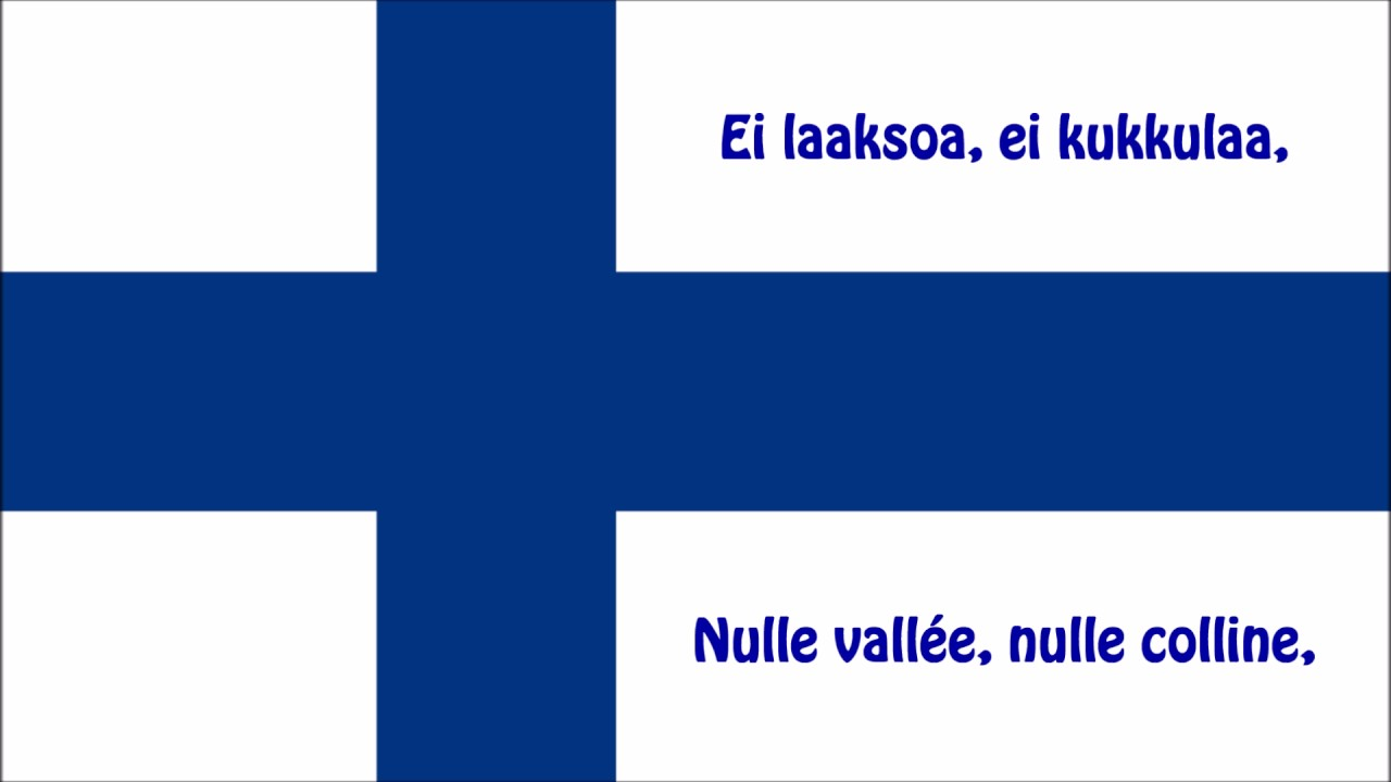hymne national finlandais