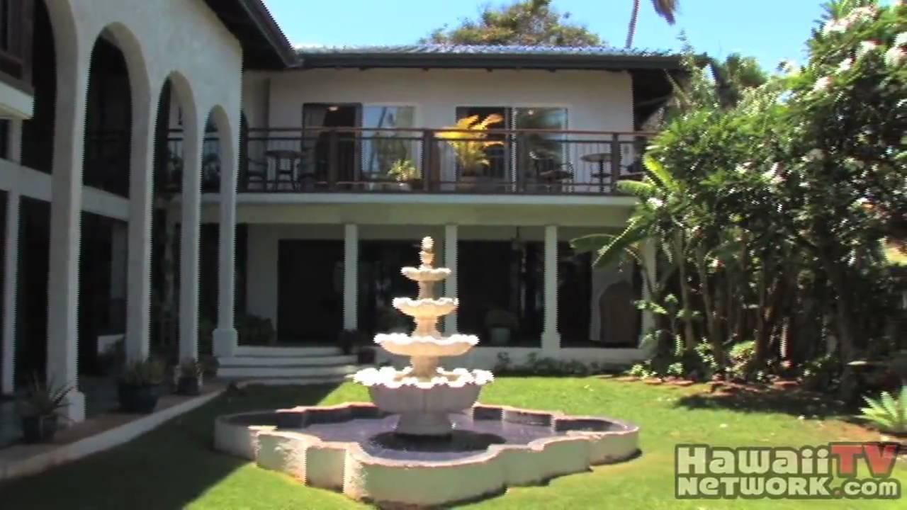 The Blue Tile Beach House Paia Hawaii Tv Network