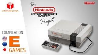 The NES / Nintendo Entertainment System Project - Compilation E - All NES Games (US/EU/JP)