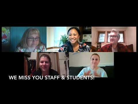 Oaklea Middle School 2019-2020:  Goodbye staff & students!