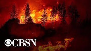 Strong winds may worsen uncontrolled wildfires across West