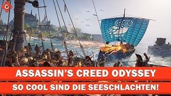 So cool sind die Seeschlachten in Assassin's Creed Odyssey | EXKLUSIV