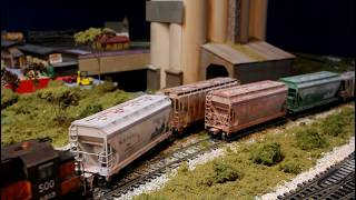 SOO bandit geep switching the cement plant!