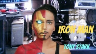Iron Man + Tony Stark Transformation ( Halloween 2013) Thumbnail
