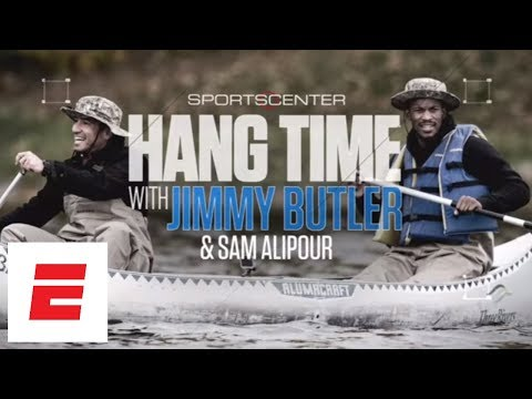 Living that Minnesota lifestyle with Jimmy Butler | SportsCenter | ESPN
