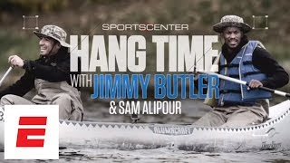 Jimmy Butler falls into a lake while canoeing in Minnesota | Hang Time with Sam Alipour | ESPN