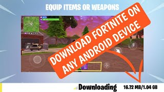 Download Fortnite on Any Android Device | All Problem Fixed | Download Now 🔥
