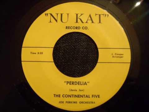 Continental Five - Perdelia - Rare Late 50's Doo Wop Ballad (Richmond, Virginia)