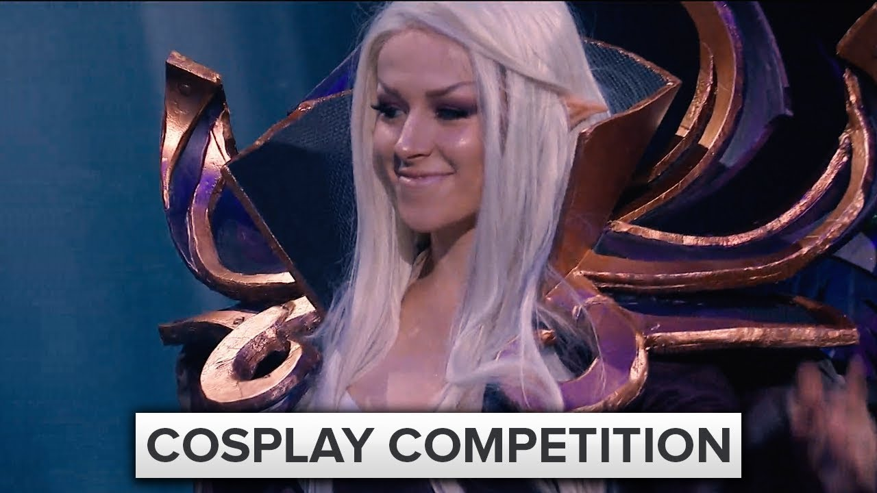 Cosplay Competition The International 2017 Dota 2 Youtube