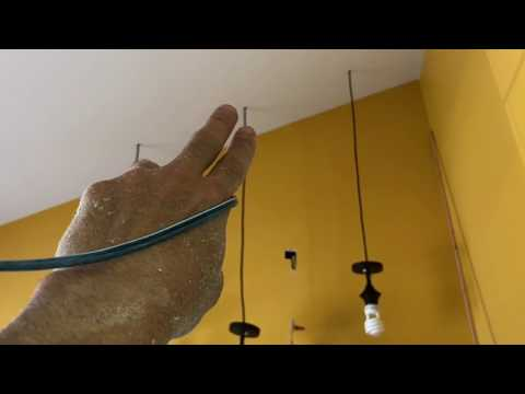 How to install pendant hanging ceiling lights