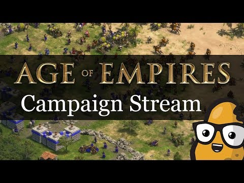 Greek Campaign Livestream Age of Empires Definitive Edition