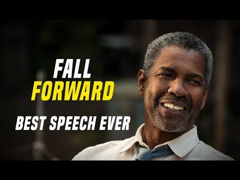 Denzel Washington  Fall Forward  One of The Best Motivational Speech Ever