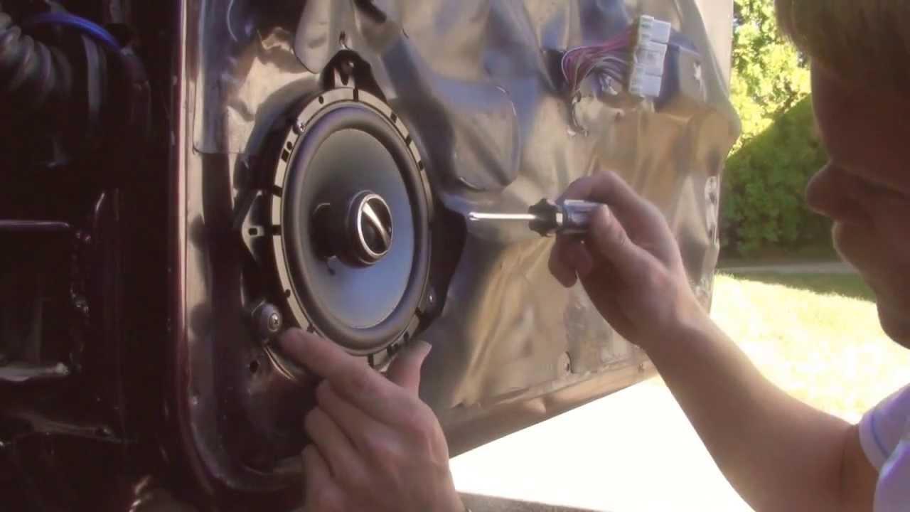 Alpine Wire Diagram 1997 Jeep Zedjay How To Replace Door Speakers Universal