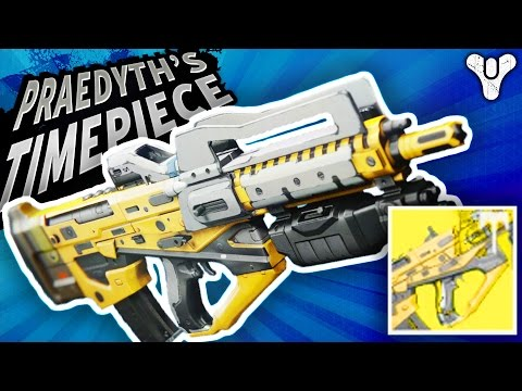 Destiny ADEPT PRAEDYTHS TIMEPIECE PULSE RIFLE REVIEW ...