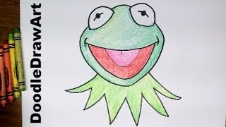 Drawing: How To Draw Kermit the Frog