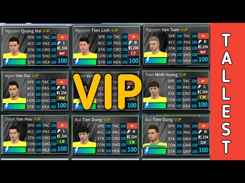 VIP Tallest CM (204) players profile dat | download now | in Dream League  Soccer 2019