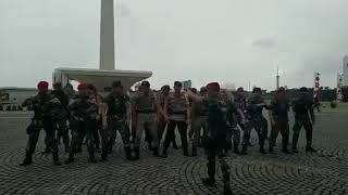 Yel-yel TNI-Polri Dari Segala Penjuru