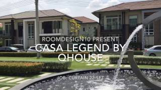 Install Curtain 22 Set : Qhouse Casa Legend